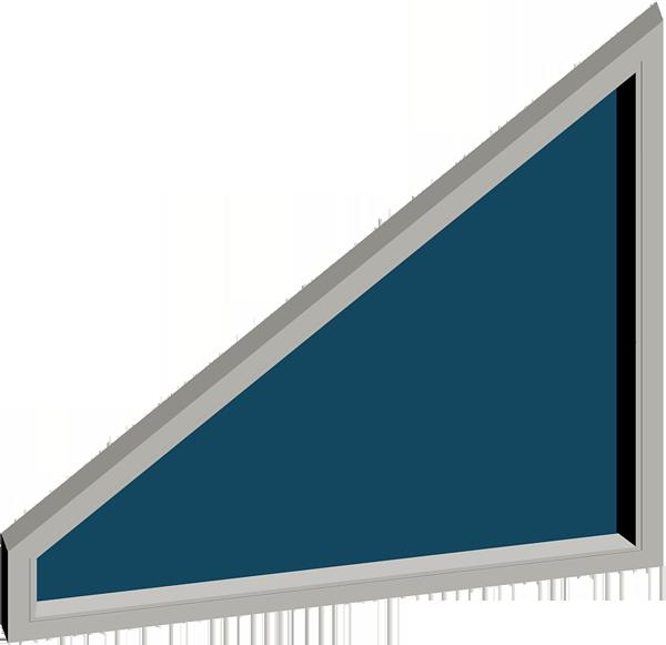ventana trapezio rectangulo