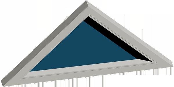 ventana triangulo